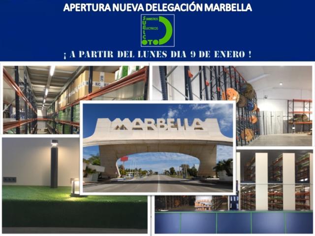 Almacén de materiales eléctricos Marbella