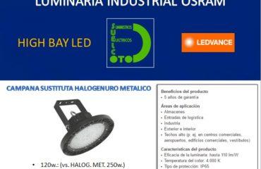 LUMINARIA INDUSTRIAL OSRAM LEDVANCE