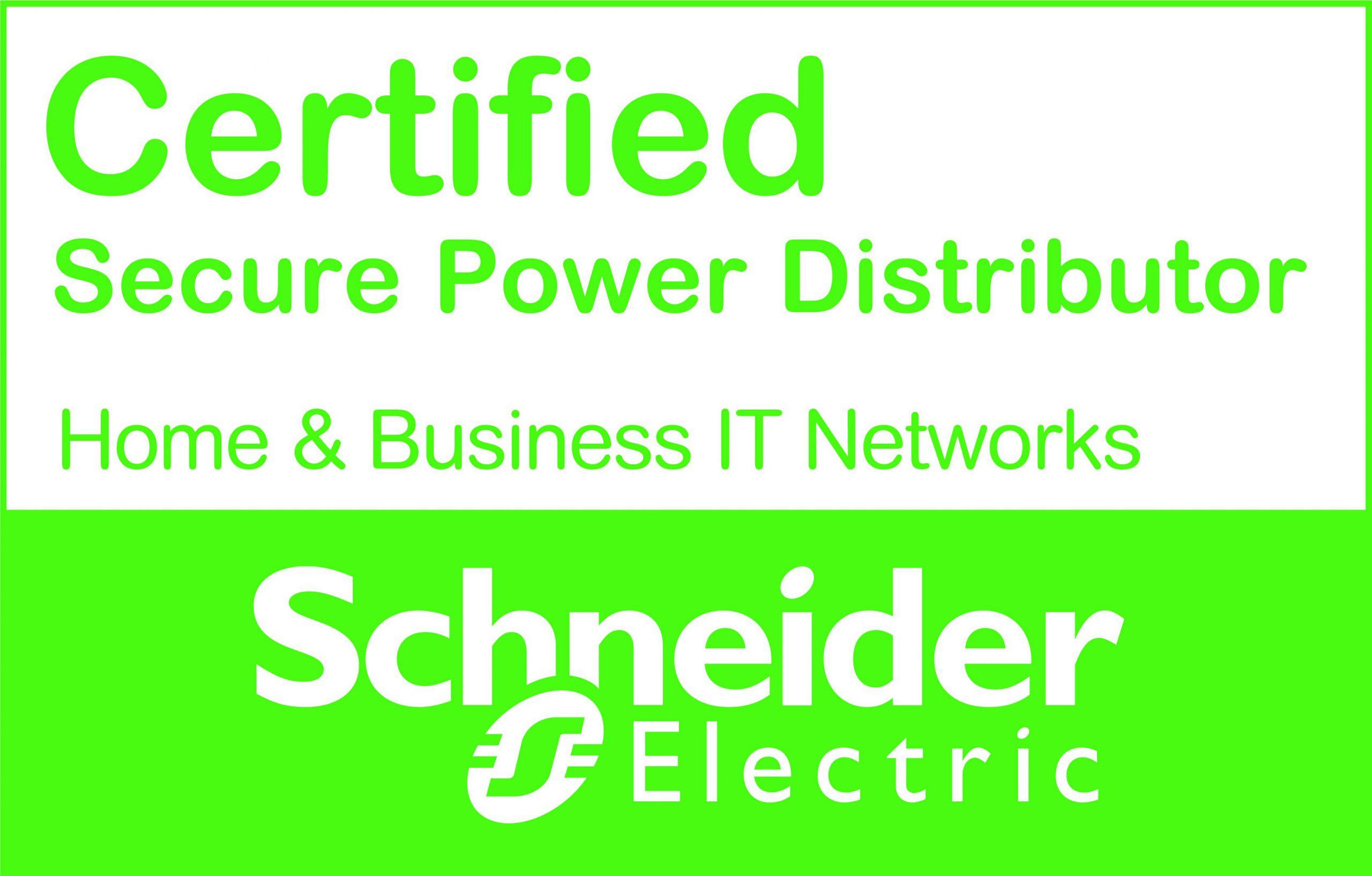 Certificado especialistas en SAI Secure Power
